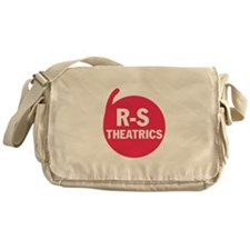 R-S Theatrics Logo Red Messenger Bag