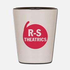 R-S Theatrics Logo Red Shot Glass