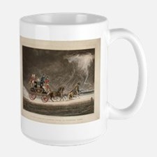 Mailcoach in a Storm Large Mug