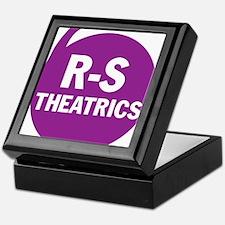 R-S Theatrics Logo Purple Keepsake Box