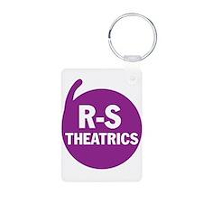 R-S Theatrics Logo Purple Keychains