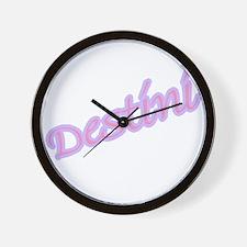 Cute Destini Wall Clock