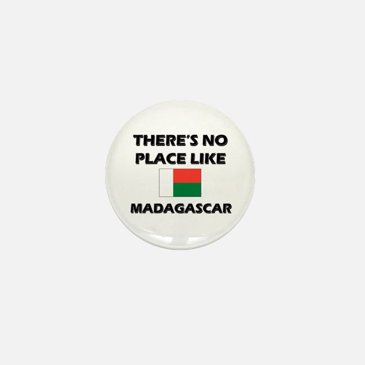There Is No Place Like Madagascar Mini Button