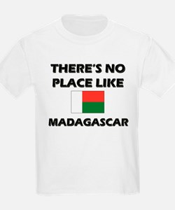 There Is No Place Like Madagascar Kids T-Shirt