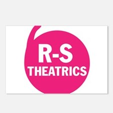 R-S Theatrics Pink Postcards (Package of 8)