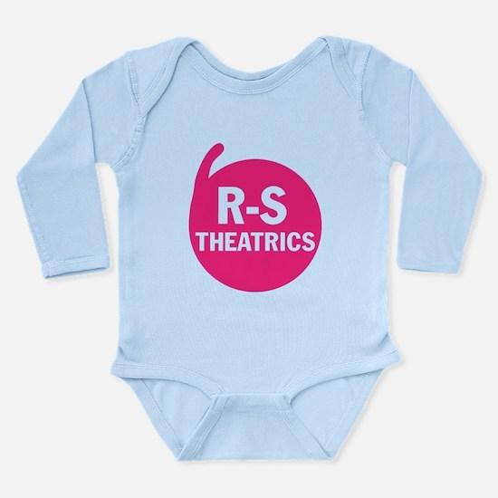R-S Theatrics Pink Long Sleeve Infant Bodysuit