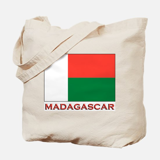 Madagascar Flag Merchandise Tote Bag