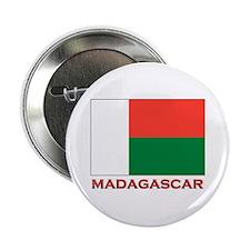 Madagascar Flag Merchandise Button