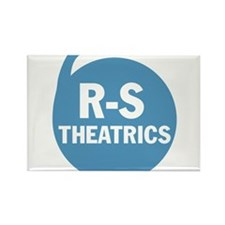 R-S Logo Blue Rectangle Magnet (100 pack)