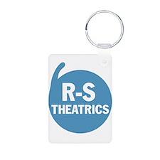 R-S Logo Blue Keychains