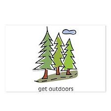 get-outdoors.jpg Postcards (Package of 8)