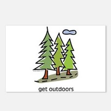 get-outdoors.jpg Postcards (Package of 8)