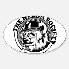 Hyena Society Logo Sticker (Oval)