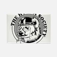 Hyena Society Logo Rectangle Magnet