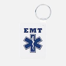 EMT Blue Star Of Life* Keychains