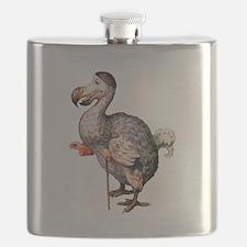 Alice's Dodo Bird in Wonderland Flask
