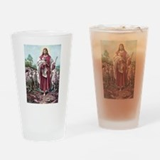 The Lamb of God Drinking Glass