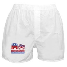 Work Harder Boxer Shorts