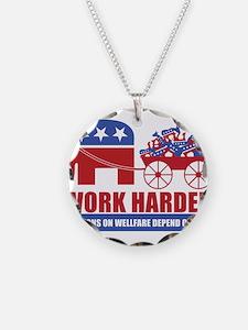 Work Harder Necklace