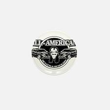 ALL AMERICAN MULLETS MUSTACHES Mini Button