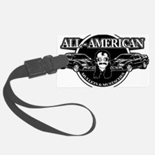 ALL AMERICAN MULLETS MUSTACHES Luggage Tag
