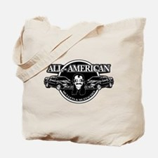 ALL AMERICAN MULLETS MUSTACHES Tote Bag