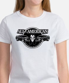 ALL AMERICAN MULLETS MUSTACHES Tee