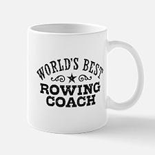 World's Best Rowing Coach Mug