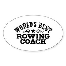 World's Best Rowing Coach Decal