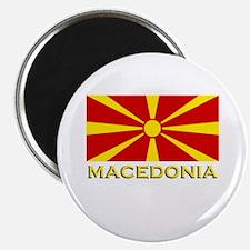 Macedonia Flag Merchandise Magnet