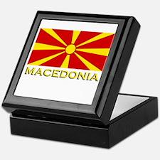 Macedonia Flag Merchandise Keepsake Box