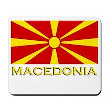 Macedonia Flag Merchandise Mousepad