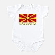 Macedonia Flag Merchandise Infant Bodysuit