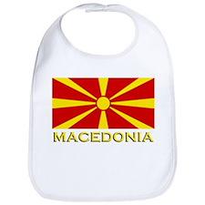 Macedonia Flag Merchandise Bib