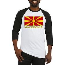 Macedonia Flag Merchandise Baseball Jersey