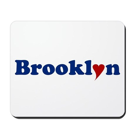 Brooklyn with Heart Mousepad