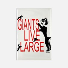 giant stands Rectangle Magnet
