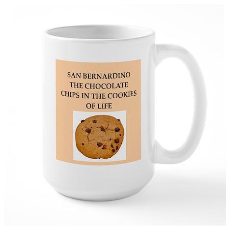 san,bernardino,california Large Mug