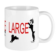 giant stands Mug
