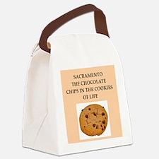 sacramento Canvas Lunch Bag