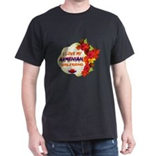 Armenian Girlfriend Valentine design T-Shirt