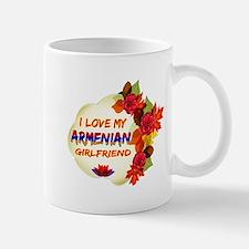Armenian Girlfriend Valentine design Mug