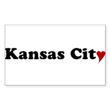 Kansas City with Heart Decal