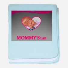 MOMMY'S LAB 2 baby blanket
