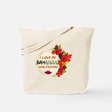 Bahamian Girlfriend Valentine design Tote Bag