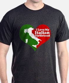 I Love my Italian Girlfriend T-Shirt