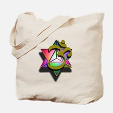 MerKaBa Om LightBody Tote Bag