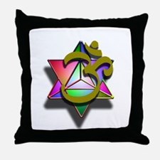 MerKaBa Om LightBody Throw Pillow