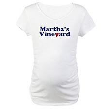 Martha's Vineyard with Heart Shirt