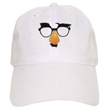 Groucho Marx Moustache Glasses Baseball Cap